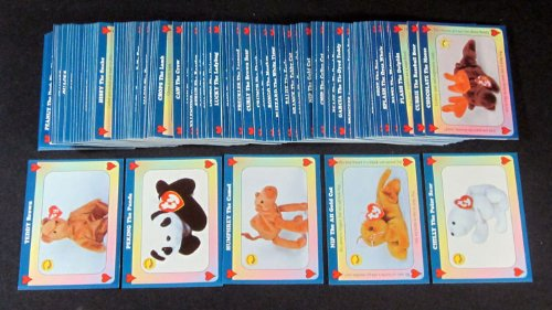 1998 West Highland Unofficial Beanie Babies Trading Card Set (100) Nm/Mt