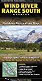 Beartooth Publishing Wind River Mountains Topographic Map - Southern Half