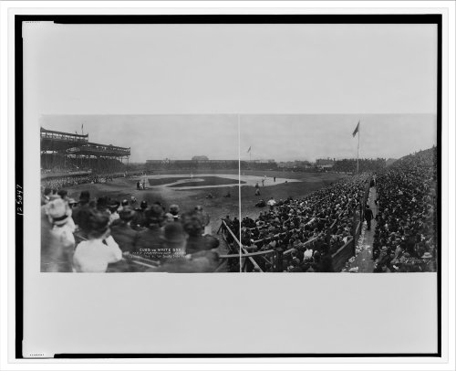Historic Print (L): Cubs vs. White Sox, City Championship series, Chicago, Oc...