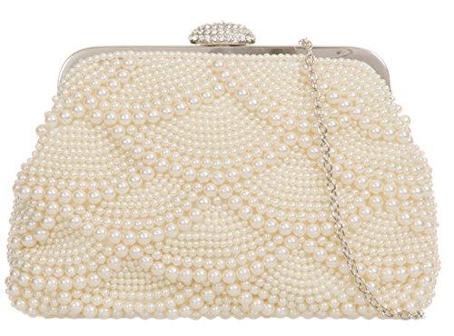 Mujer Material De Sintético Para Girly Cartera Beige Handbags Mano BxzInPB0q