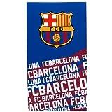 NEW 100% OFFICIAL FOOTBALL CLUB TEAM STRIP TOWELS BEACH BATH GYM SWIM LICENSED (Barcelona) by Barcelona F.C.