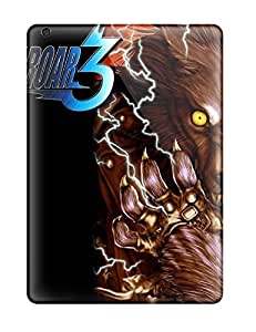 High Impact Dirt/shock Proof Case Cover For Ipad Air (bloody Roarand Screensavers ) by icecream design