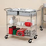 Vancouver Classics 3 Tier Kitchen Trolley
