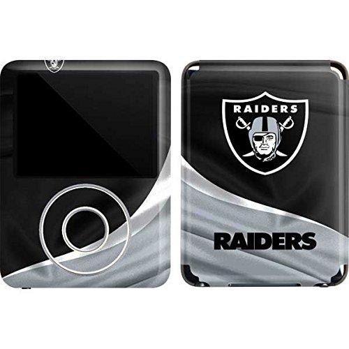 Skinit Protective Skin for iPod Nano 3G (NFL Oakland Raiders Logo) ()