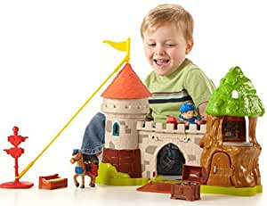 Fisher Price BCT44 Mike el Caballero - Castillo de Glendragon y figuras
