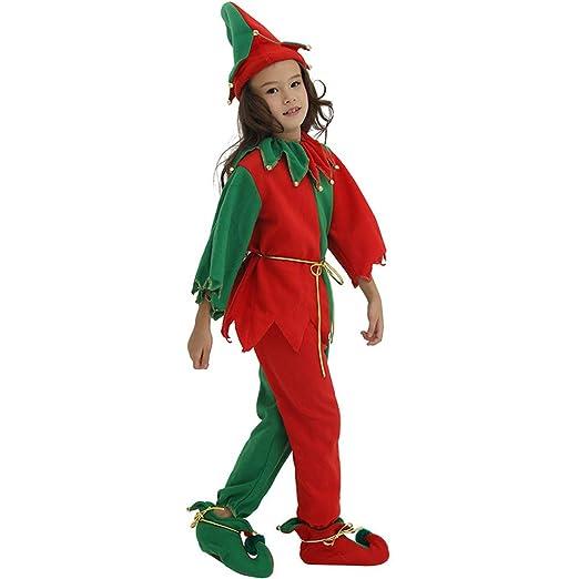 Aihifly Traje de Navidad Disfraz de Navidad Niños Niñas Festival ...