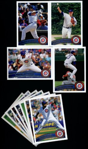 2011 Topps Chicago Cubs Complete Series 1 & 2 Team Set / 23 Cards including Starlin Castro, Marmol, Cashner, A Ramirez, Dewitt, Garza, Darwin Barney RC & ()