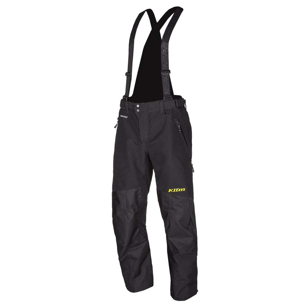 Klim Powerhawk Pant Men's Ski Snowmobile Bibs - Black / 2X-Large Tall by KLIM