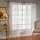 SKL Home Petite Fleur Lace Panel, White, 56 inches x 63 inches Review