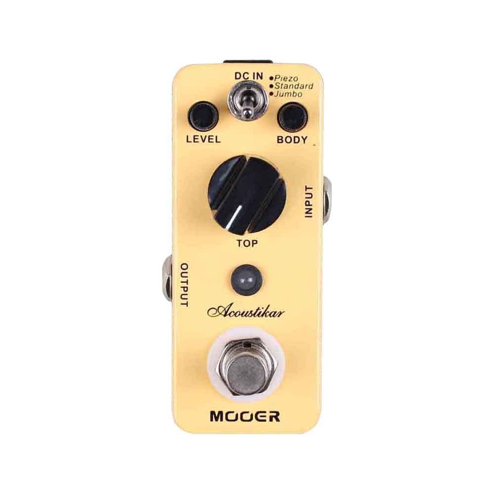 Mooer acous tikar - acústica Simulator Pedal para guitarra eléctrica: Amazon.es: Instrumentos musicales