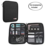 BUBM Travel Organizer for Electronics Accessories, Black