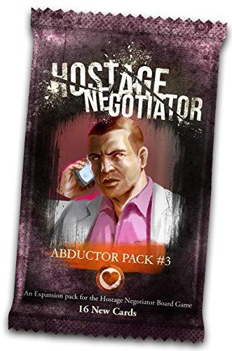 Van Ryder Games Hostage Negotiator: Abductor Pack #3 (Hostage Negotiator Board Game)