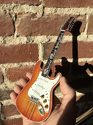 (FanMerch SRV - Stevie Ray Vaughan Signature Hamiltone Miniature Guitar Replica)