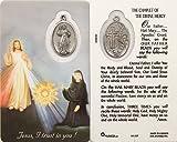 Catholic Prayer Card with Medal