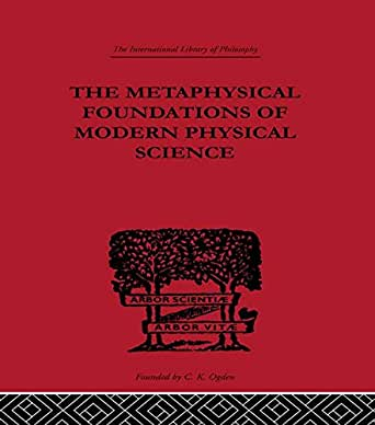 Metaphysics and Philosophy of Science in the Seventeenth