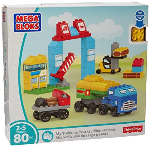 Mega Bloks My Trekking Trucks Building Set