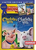 Charlotte's Web Limited Edition Gift Set - 2006 and 1973 Movies Plus Book