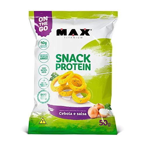 Snack Protein (Salgadinho) 50g ? Max Titanium
