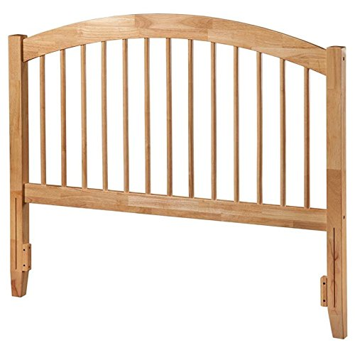 Atlantic Furniture AR294845 Windsor Headboard, Queen, Natural