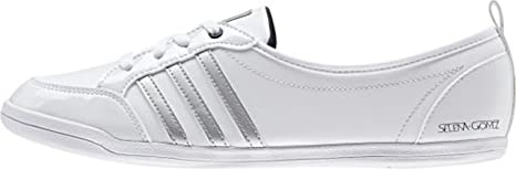 popular brand outlet store sale 2018 shoes adidas Neo PIONA SELENA GOMEZ White Women Sneakers Shoes ...