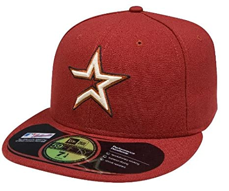 Amazon.com   MLB Houston Astros Authentic On Field Alternate 59FIFTY ... 7e27b278c95b