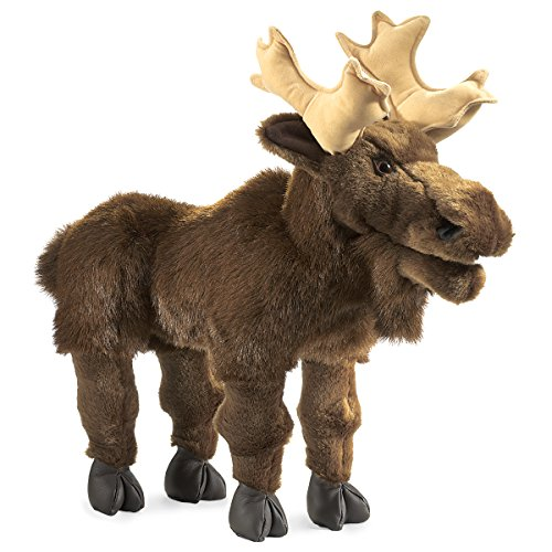 Folkmanis Moose Hand Puppet by Folkmanis