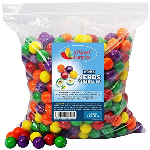 Best gumballs filled with nerds