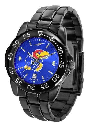 Kansas Jayhawks Watch - Kansas Jayhawks Fantom Sport AnoChrome Men's Watch