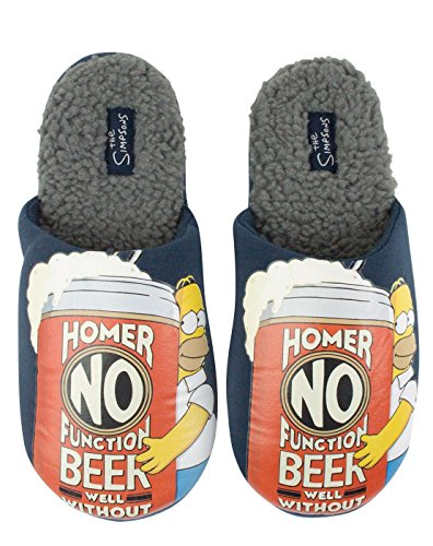 The Simpsons Homer No Function Men's Slippers