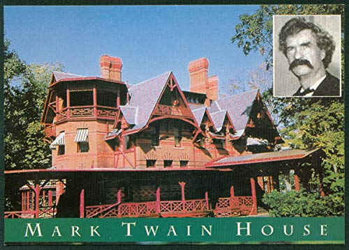 Mark Twain House Victorian Gothic Style Home Hartford Connecticut CT ()