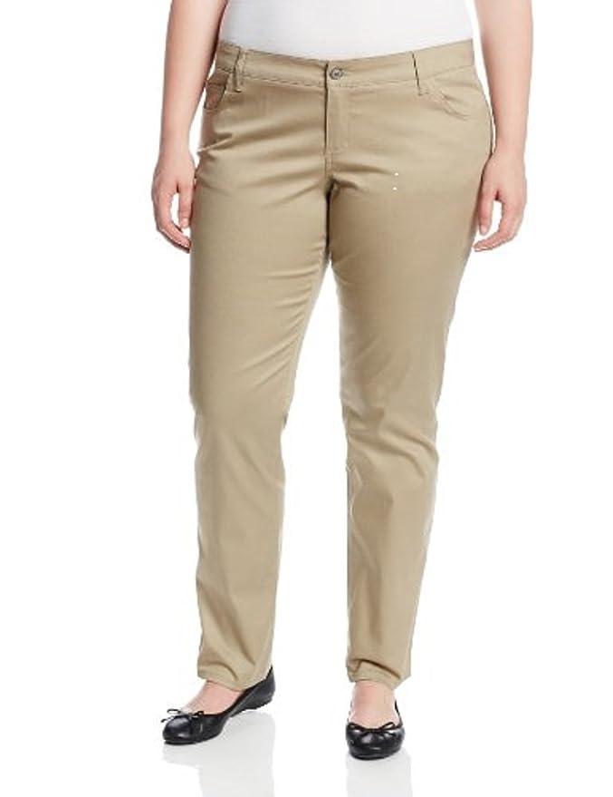 8887d0c8c65b Genuine Dickies Dickies Junior s Plus Classic Five Pocket Skinny Pant at  Amazon Women s Clothing store