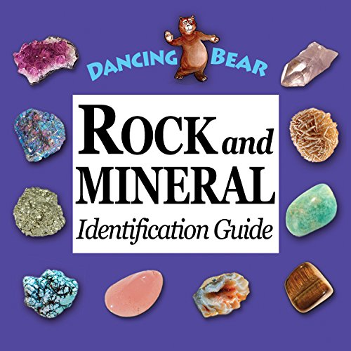 Dancing Bear Rock and Mineral Book Identification Guide (5) by Dancing Bear