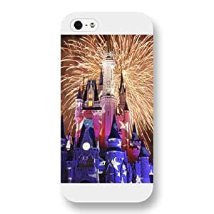 Diy White Hard Plastic Disney Castle Diy For Touch 5 Case Cover