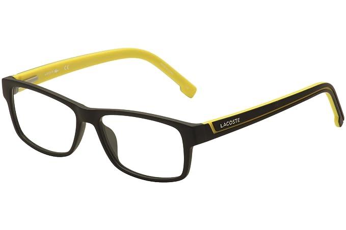Lacoste L2707 002 53, Monturas de Gafas Unisex-niños, Matte Black