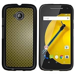 KLONGSHOP // Cubierta de piel con cierre a presión Shell trasero duro de goma Protección Caso - Simple patrón 9 - Motorola Moto E2 E2nd Gen //