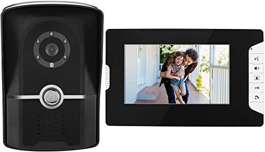 7 Zoll Video Türsprechanlage Türklingel Gegensprechanlage HD TFT-LCD IP65