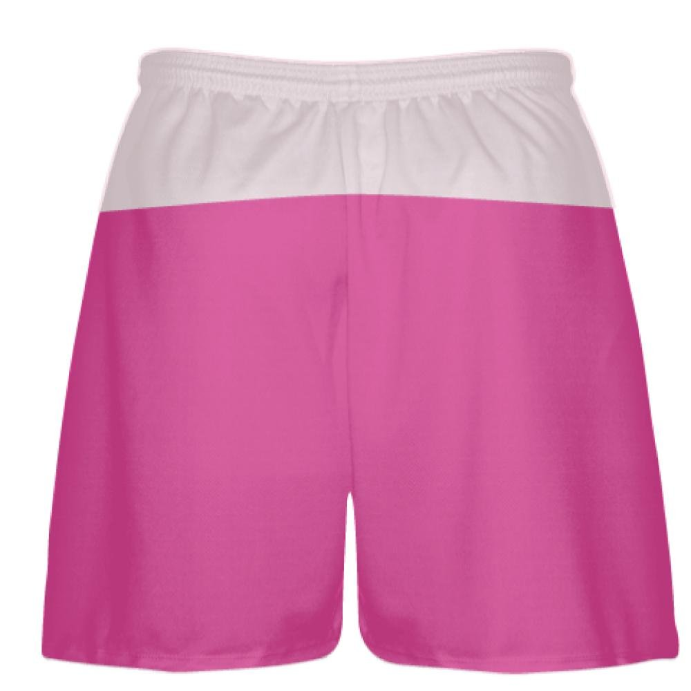 low priced 1466b 5cca8 Boys Mens Lacrosse Shorts Sports Apparel Hot Pink Light Pink Athletic Shorts  Athleisure