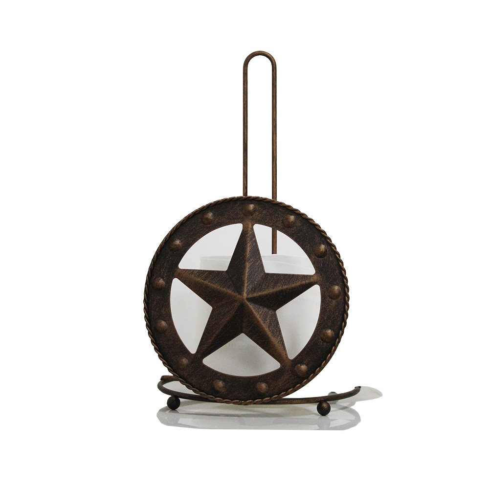 Texas Home Basics Toilet Napkin Paper Holder (Paper Holder) by Hot Air Balloon