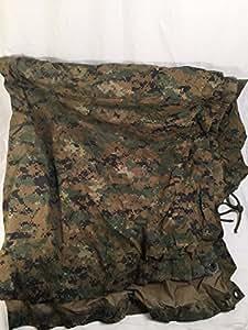 Official USMC Reversible Woodland MARPAT/Coyote Field Tarp