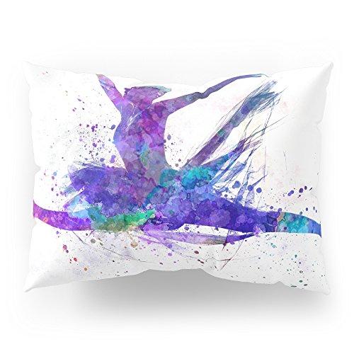 - Society6 Woman Ballerina Ballet Dancer Dancing Pillow Sham Standard (20