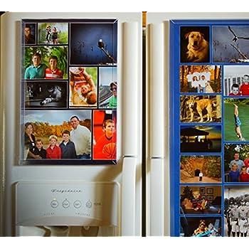 Amazon.com: Fridgemag.com Magnetic Photo Collage Frame 10 X 15 (Inch ...