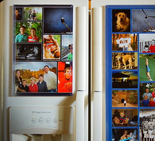 - Fridgemag.com Magnetic Photo Collage Frame 10 X 15 (Inch)
