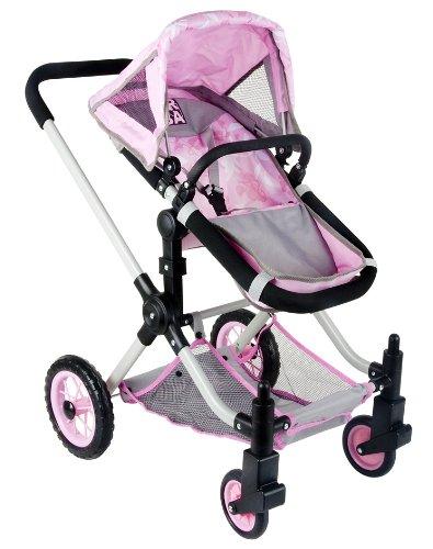 Coloma carrito de muñecas urbanas (rosa)