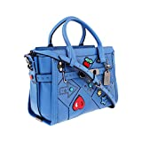 Coach Swagger 27 Ladies Medium Canyon Quilt Leather Satchel 55503DKLGI