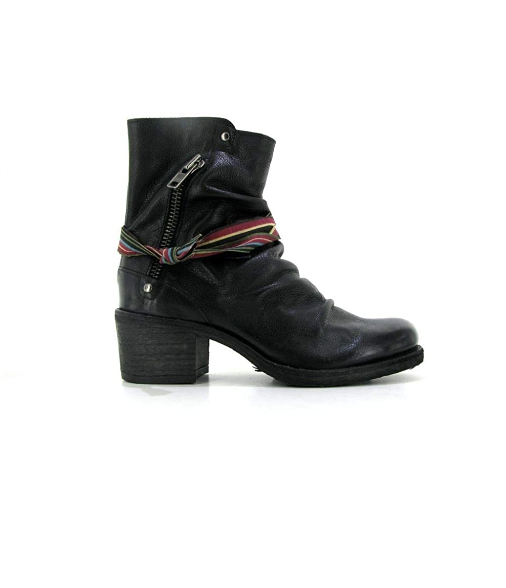 Felmini targoff 18 - Black, Coloris - Black, - Matiere - Cuir, Taille - 37B07JCC56TGParent 2a5417