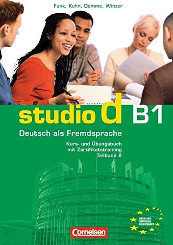 Studio d in Teilbanden: Kurs- und Ubungsbuch B1 mit Lerner-CD (Einheit 6-10)