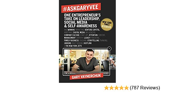 Social Media and Self-Awareness Hardcover Book One Entrepreneurs Take on Leadership 2 PACK Books #AskGaryVee