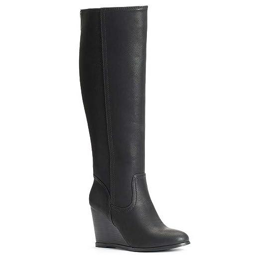 2997d04c8e0 SO Women's Tall Wedge Boots
