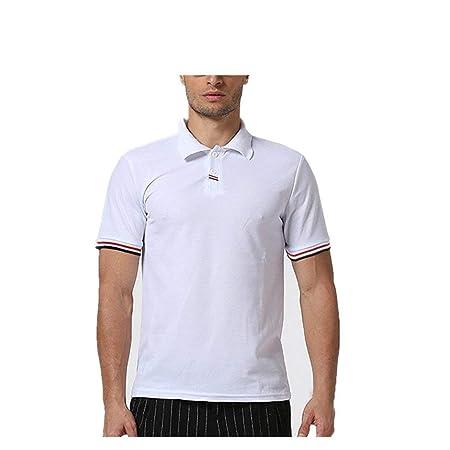 FuweiEncore Camisa de Polo Deportiva para Hombre - Camisetas de ...