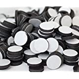 """Flexible Magnets 3/4"""" Round Disc with Adhesive Backing - 60 Pcs"""